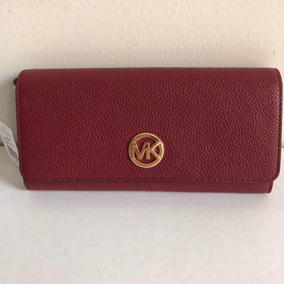 68c259be0b44 low cost michael kors fulton wallet price e6158 9430d; best price michael  kors fulton continental wallet nwt fd72c 50af5